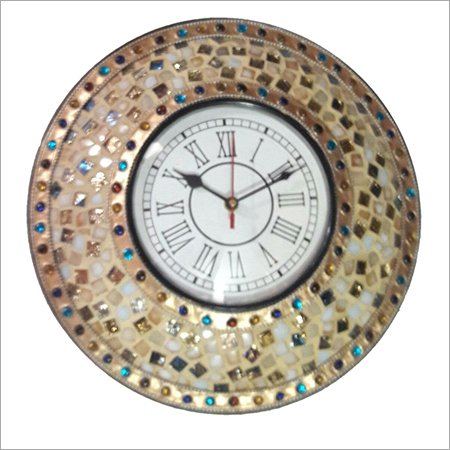 Stone Designed Wall Clock