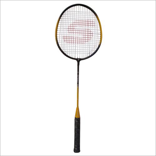 Single Steel Frame Badminton Racket