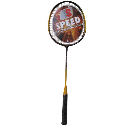 Steel Shaft Badminton Racket