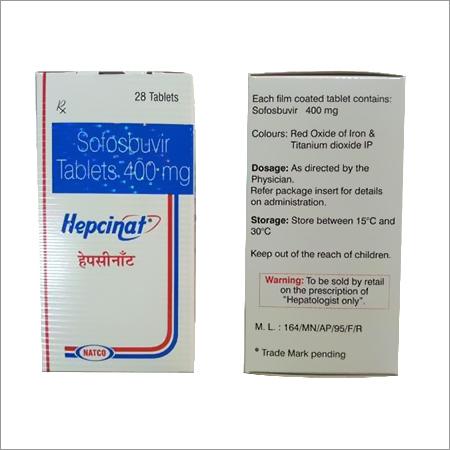 Hepcinat 400 mg Natco