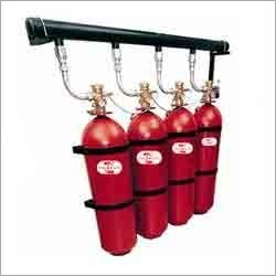 Co2 Flooding Fire Extinguisher
