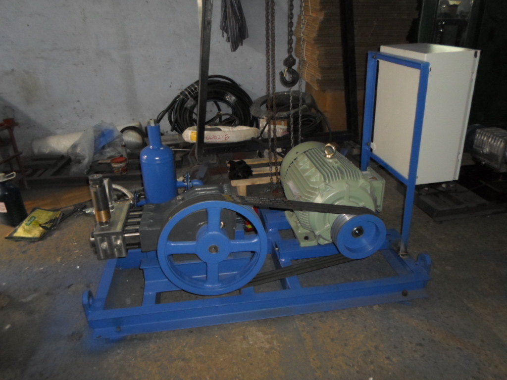 Reciprocating Triplex Plunger Pump 350 BAR