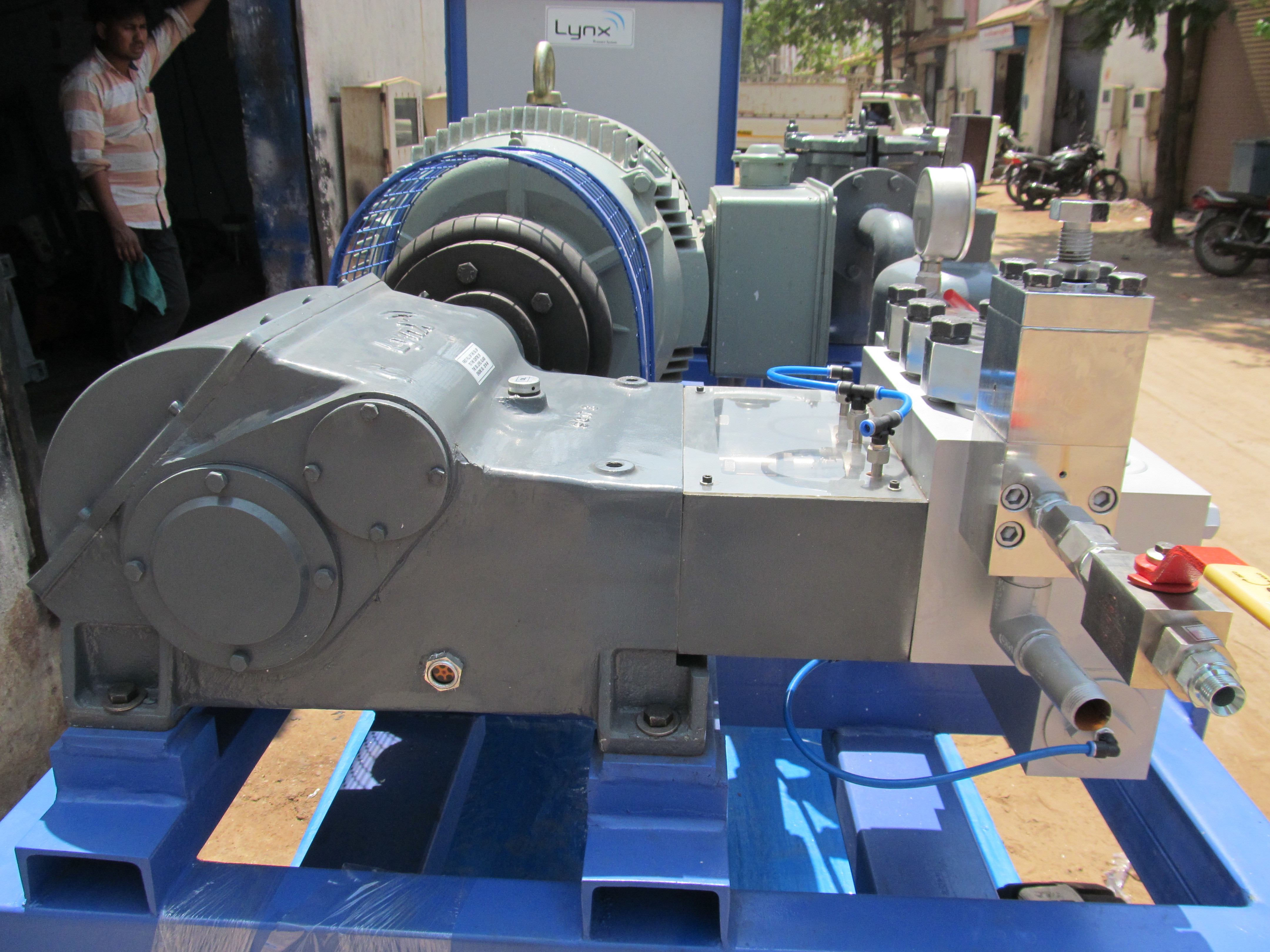 High Pressure Triplex Pump 500 BAR