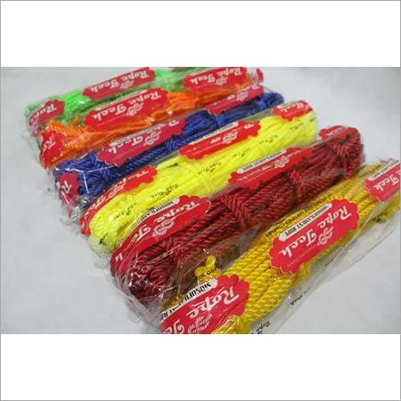 Multicolor Plastic Rope