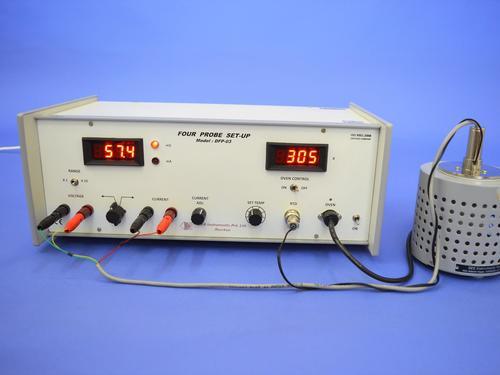 Four Probe Setup Apparatus