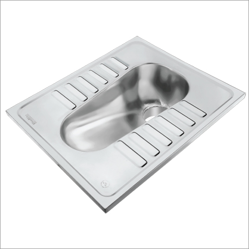 SS Lavatory Pan without  Flush Type