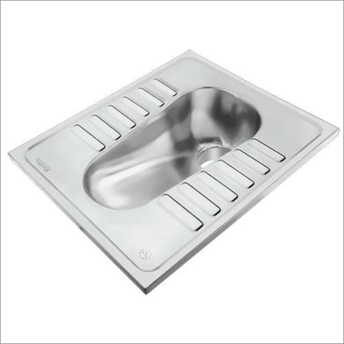 SS Lavatory Pan without  Flush Type