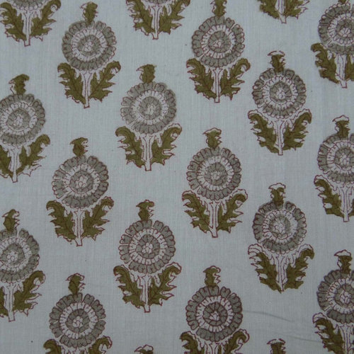 Hand Block Print Sanganer Fabric