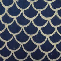 Hand Block Printed Pattern Fabric