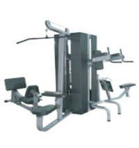 Multi Gym 4 Stack wIth Weight Shield
