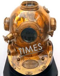 Antique Scuba Diving Helmet