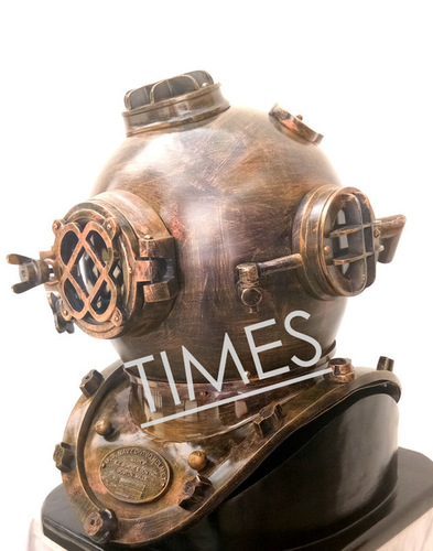 Antique Brass Diving Helmet