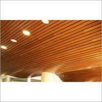 Wood finish Ceiling