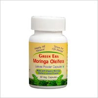 Organic Moringa Oleifera Leaves Powder Capsules