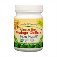 Organic Moringa Oleifera Leaves Powder Bottle - 100gm