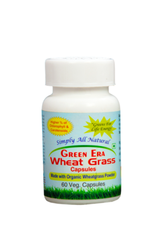 Organic Wheat Grass Capsules