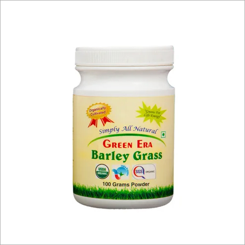 Barley grass 100 Gram Powder Bottle