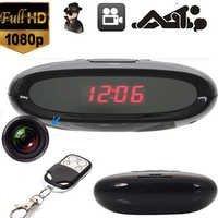 SPY NEW HD 1080P HIDDEN CAMERA CLOCK REMOTE MOTION DETECTION