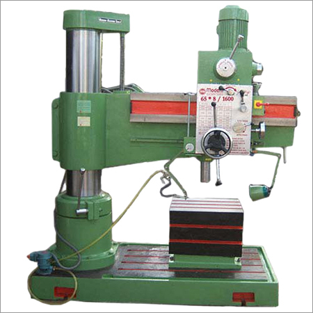 75 MM Semi All Geared Radial Drill Machines