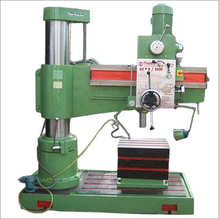 65 MM Semi All Geared radial drill machine