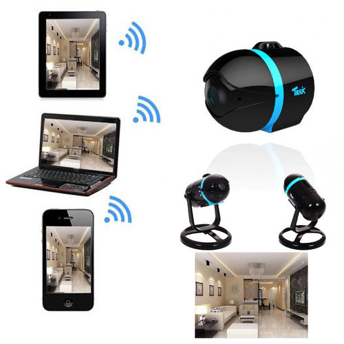 SPY BALL MINI SPY CAM NETWORK WIRELESS IP SECURITY CAMERA WI FI ANDROID IOS