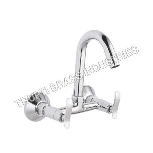Chrome Plated 2 Way Sinkl Mixer
