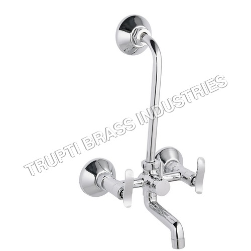 Chrome Plated 2 in 1 Wall Mixer