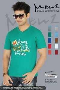 Mans Half Sleeves T-shirt