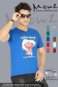 Mans V Neck T-shirt