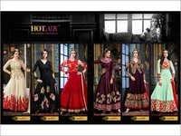 Hotlady (SHAHEENA) Anarkali Salwar suit
