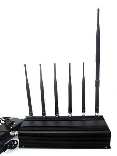 15W HIGH POWER 6 ANTENNA 3G,4G MOBILE PHONE JAMMER