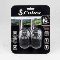COBRA CXT125 TWO WAY RADIO 16 MILE 22 CHANNEL WALKIE TALKIE