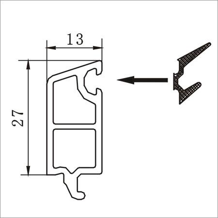 65B Triple Glazing Bead 13mm