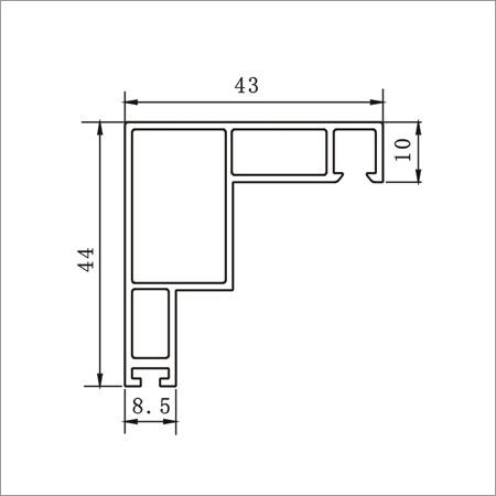 60B Adaptor Screen Sash