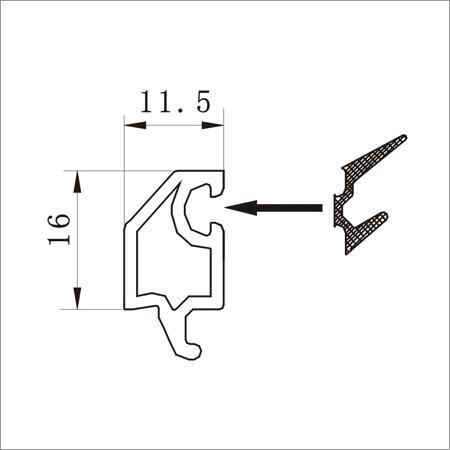 88 Double Glazing Bead - 11mm