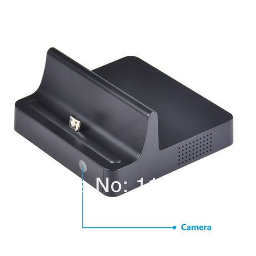 SPY CAMERA IN MOBILE CHARGING DOCK