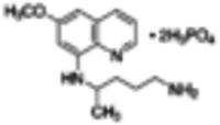 Primaquine diphosphate