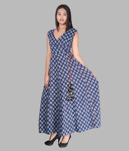 Cotton Maxi Style Long Dress