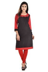Wave Design Cotton Kurti