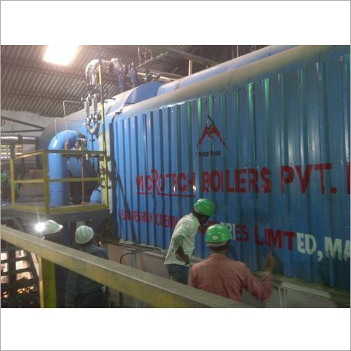 Fluidized Bed Biomass Boiler