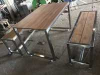 Canteen Bench and Table