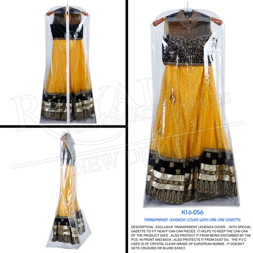 Lehenga Cover With Side Can Can Provision