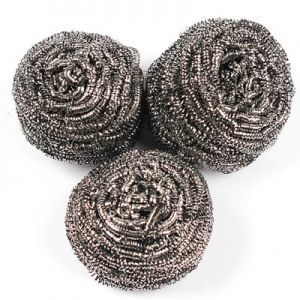 Round Stainless Steel Scrubbers