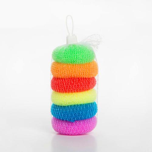 Plastic Knitting Mesh Scourers