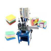 sponge scrubbing king making machine