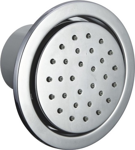 Brass Body Jet Shower Round Concealed