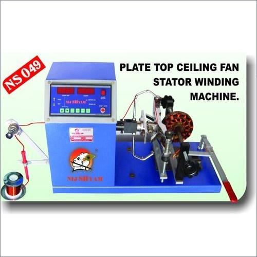 Plate Top Ceiling Fan Stator Winding Machine
