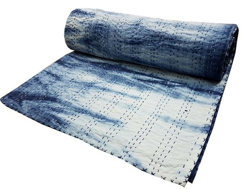 Cotton Kantha Bedcover