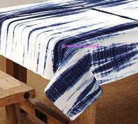 Tie Dye Shibori Table Cover