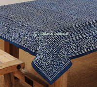 Indian Block Printed Table Cover